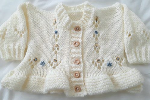Option 6 frilly cardigan