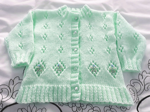 Option 24 diamond lacy cardigan