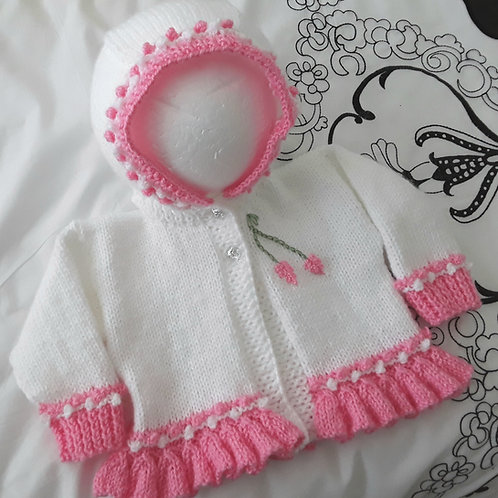 Option 20 frilly hoodie