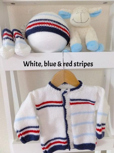 Option L Multi stripe cardigan Only