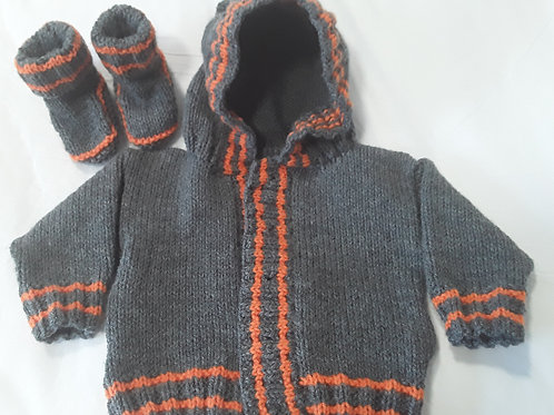 Option N Boys hoodie and boots