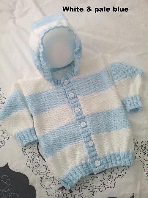 Option K stripy hoodie