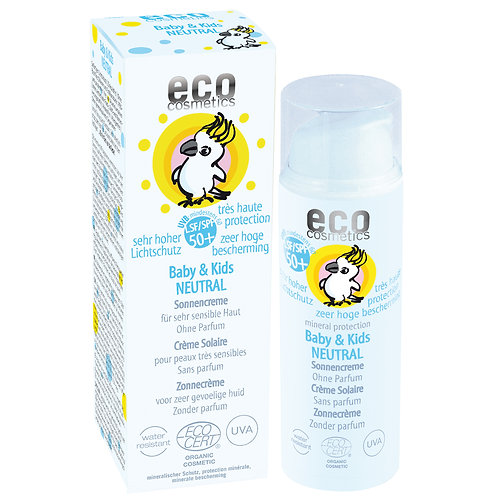 Eco Cosmetics Baby & Kids Sonnencreme Neutral LSF 50+