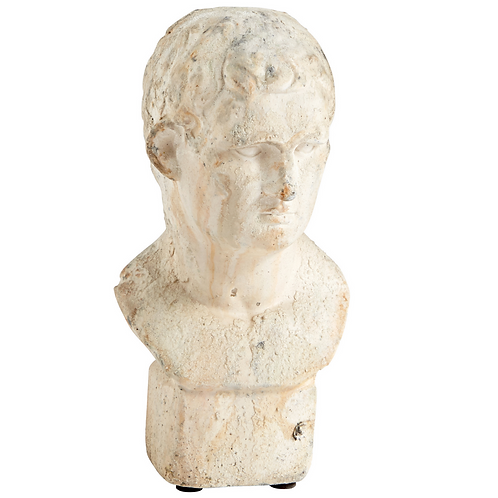 SMALL MALE BUST SCULPTURE