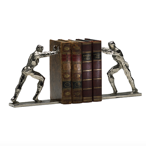 IRON MEN BOOK ENDS SET