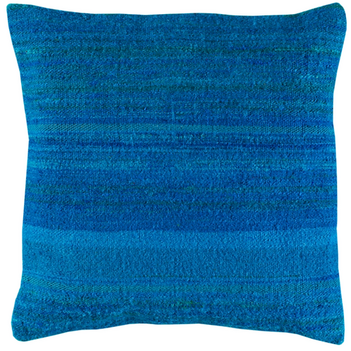 BLUE ON BLUE PILLOW