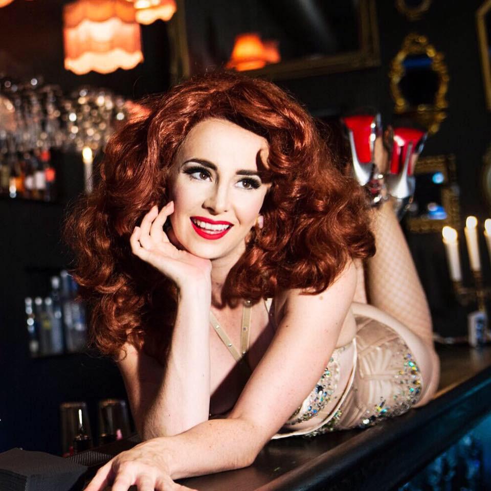 Maple Rose Burlesque Showboat Dancer Melbourne