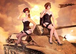Badass Bombshells Photography