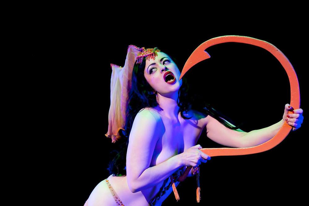 Becky Lou Naughty Nautical Burlesque Cruise Melbourne
