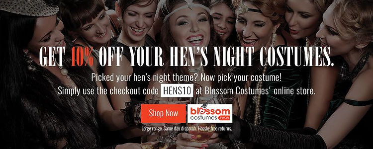 Blossom Costumes Burlesque Discount Offer