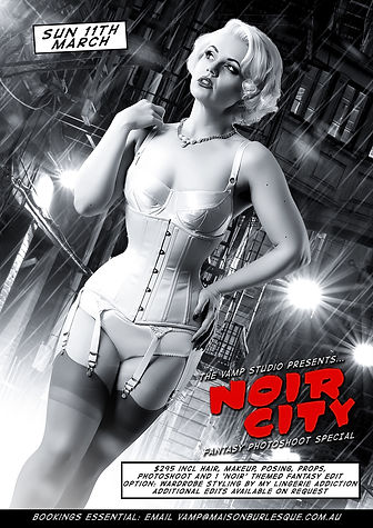 Sin City Femme Fatale Photoshoo Special