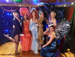 Burlesque Showboat on Channel 7 Sunrise