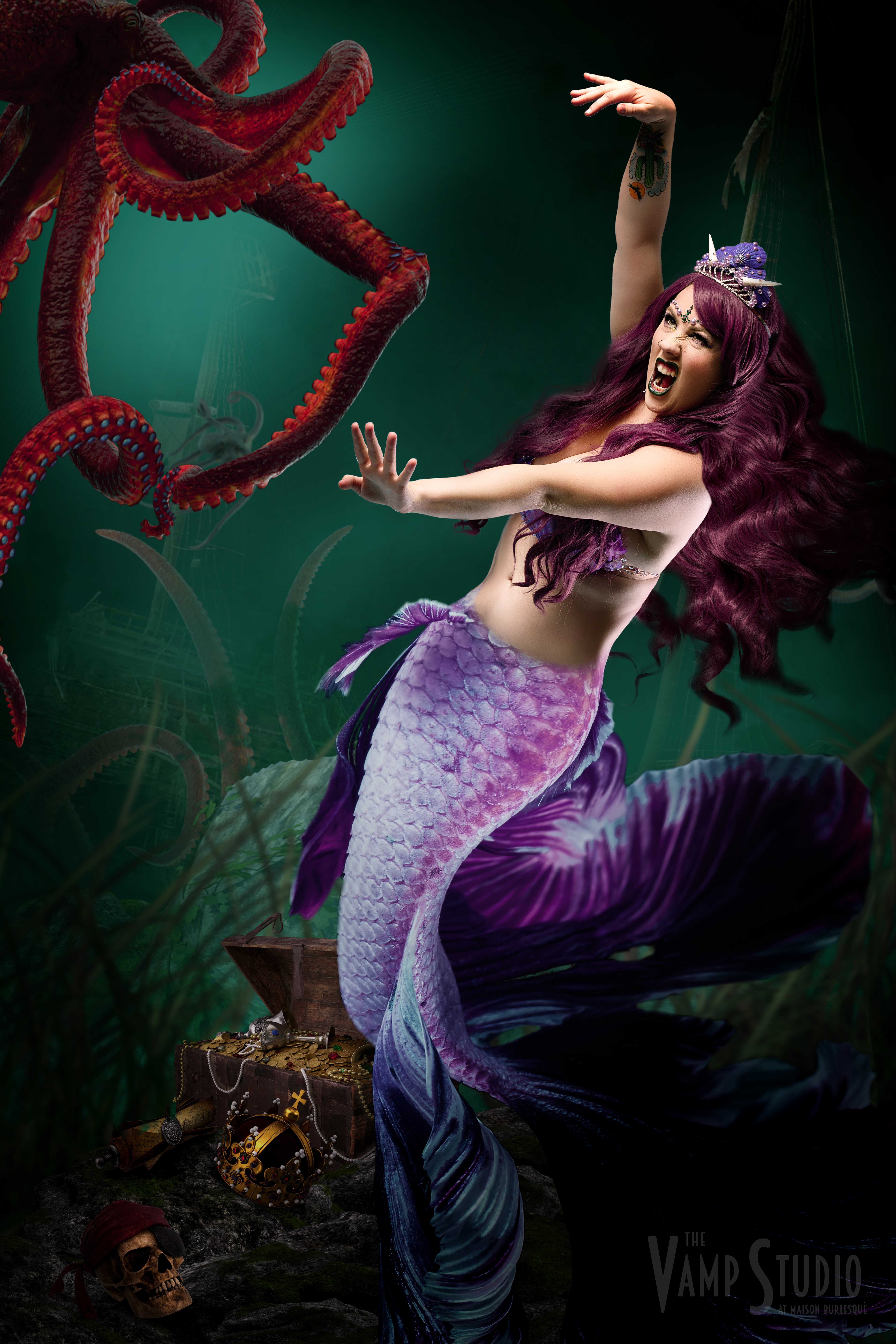 Mermaid Fantasy Photography