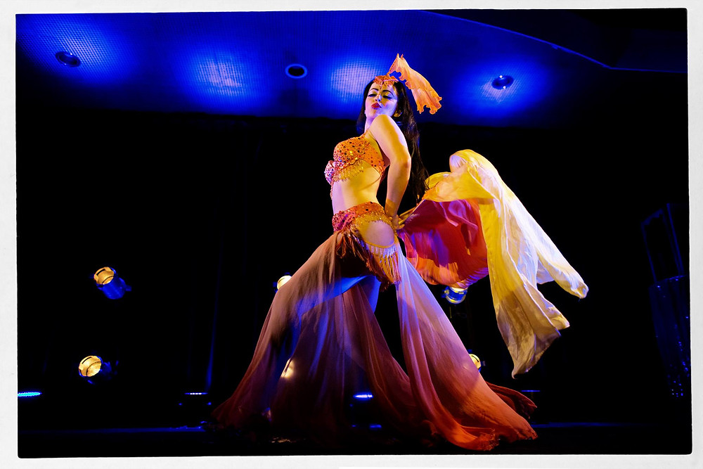 Becky Lou Goldfish Act Burlesque Showboat Melbourne