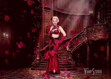 Poppy Cherry Vamp Studio Photography