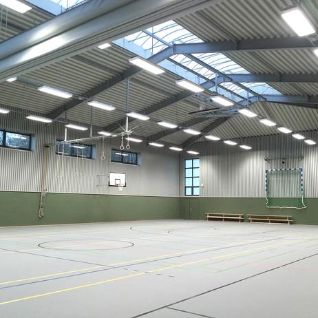 Sporthalle Sievershütten Architekten Geb