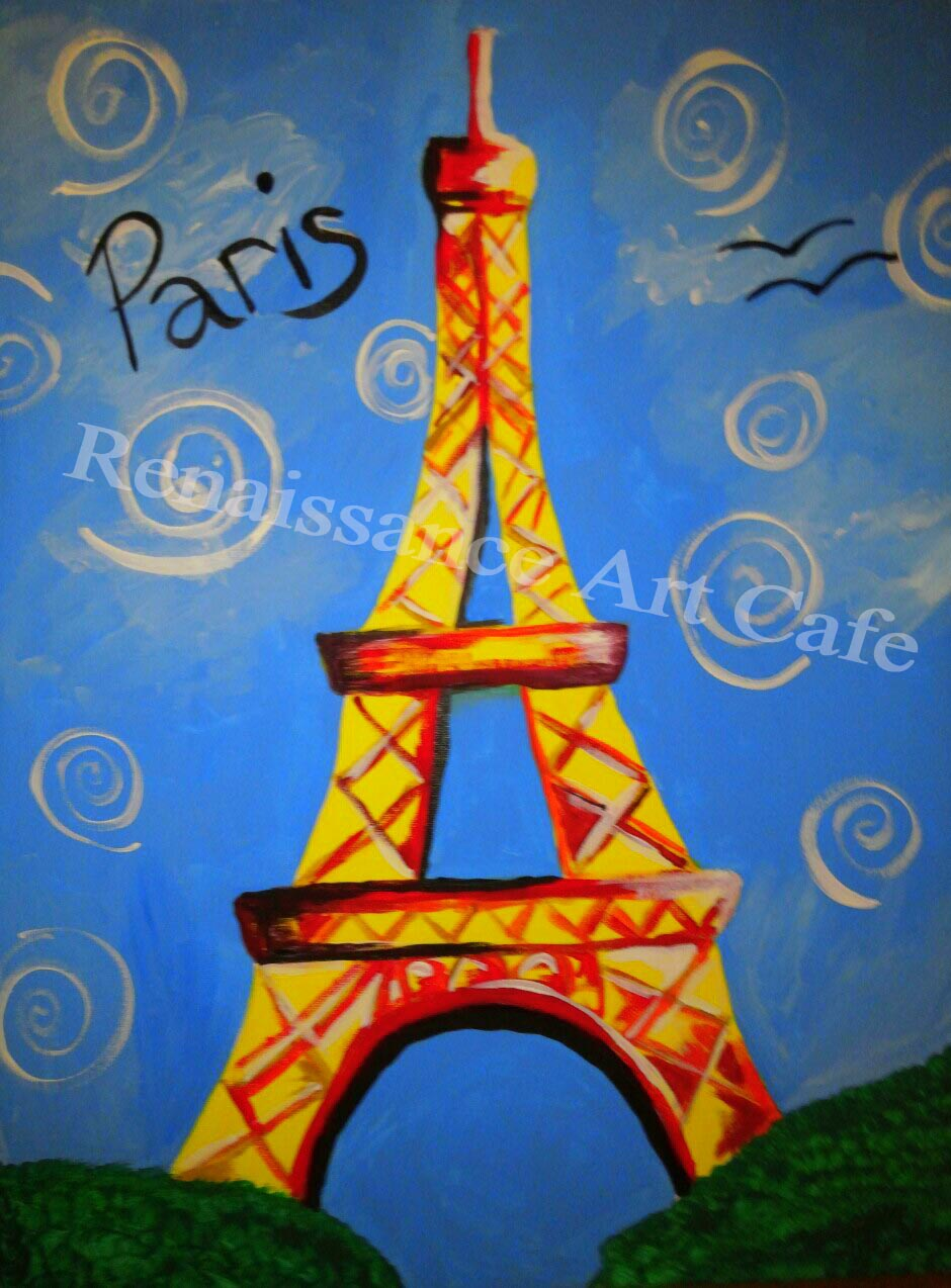my Eiffel tower