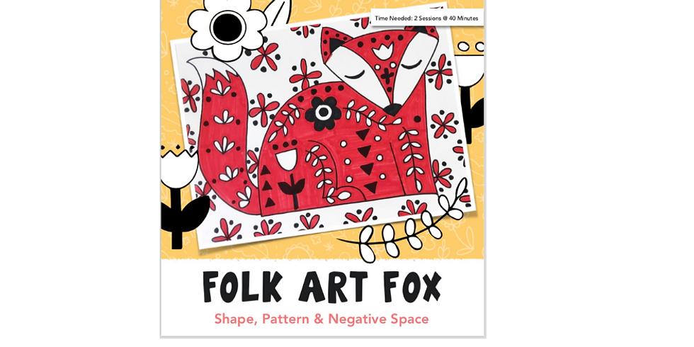 Folk Art Fox