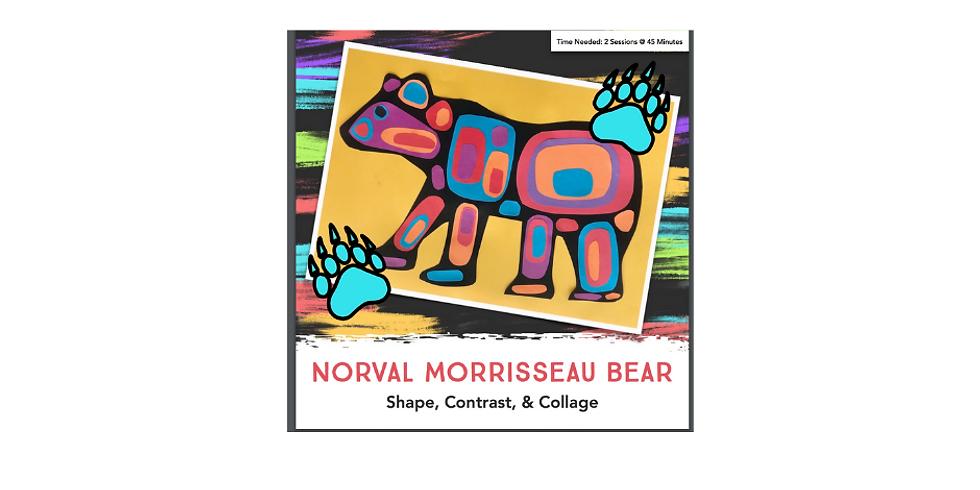 Norval Morrisseau Bear