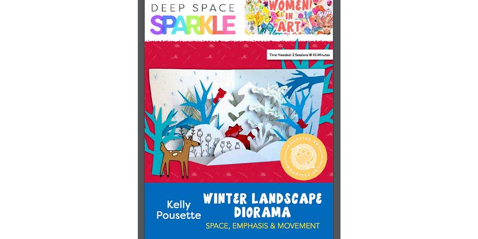Winter Landscape Collage