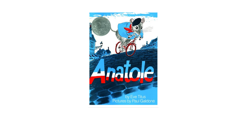 Anatole and the Cheeses of France