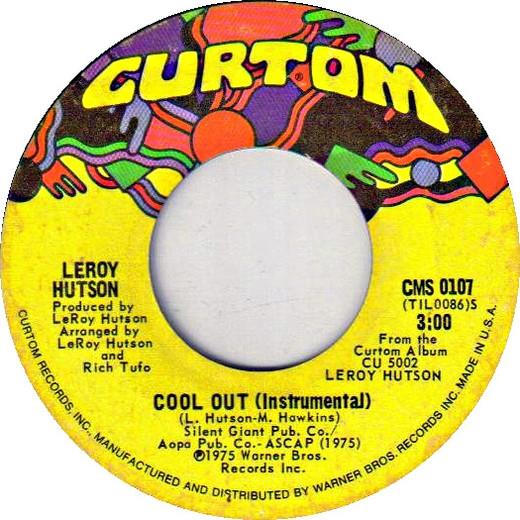 "Mellow Monday: Leroy Hutson ""Cool Out"""
