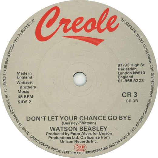 """Friday Jam: Watson Beasley """"Don't Let Your Chance Go Bye"""""""