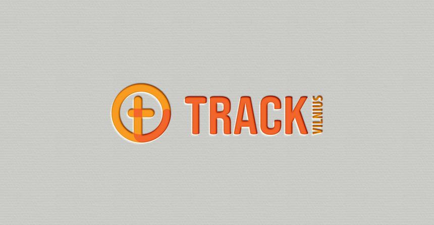 """Logotipas """"Track Vilnius"""""""