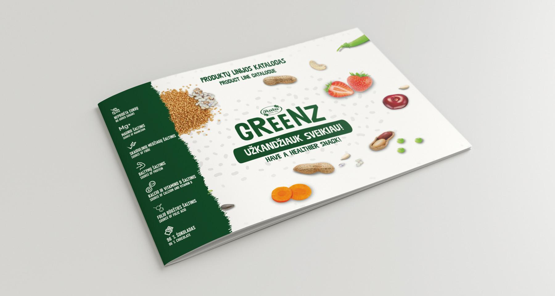 "Prekinio ženklo ""Greenz"" katalogas"