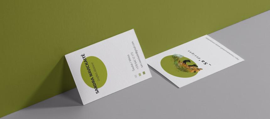 """Vizitinės kortelės """"_Sa'designs"""""""
