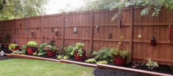 8' Privacy fence