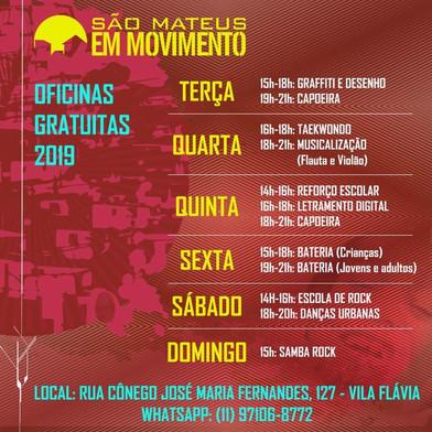 SÃO MATEUS EM MOVIMENTO