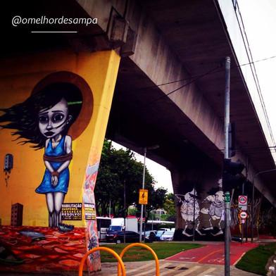 Grafites da Av Cruzeiro do Sul