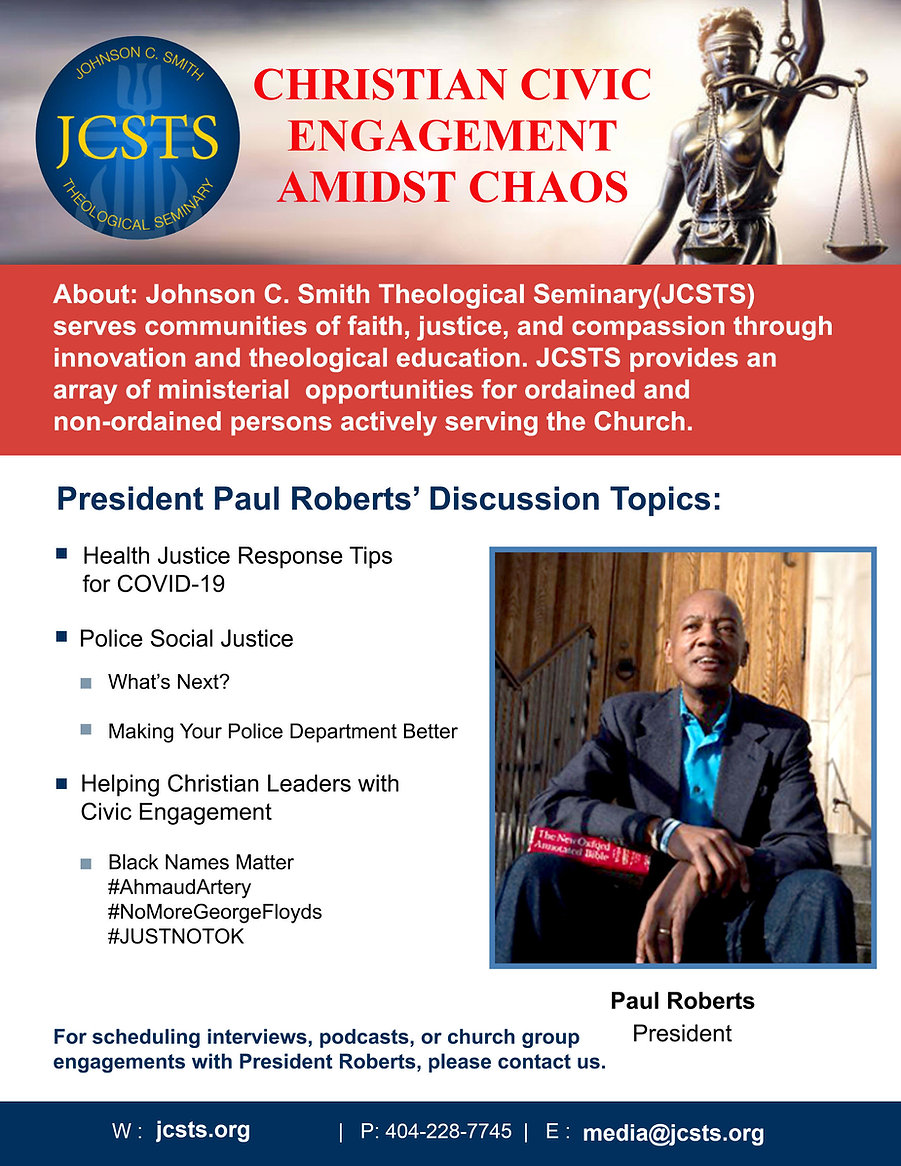 Christian Civic Engagement with JCSTS Pr