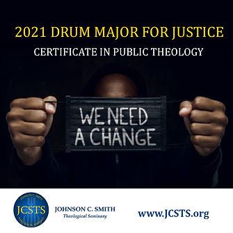 JCSTS Drum Major for Justice Public Theo