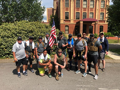 SM - Completion of the 15 mile Ruck Marc