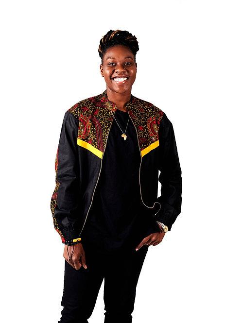 Black Sika Track Jacket