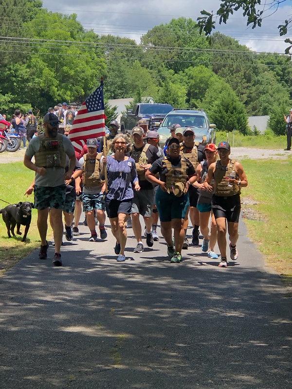 SM - Athens Patti leading run to America