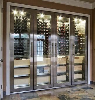 Glass Wine Cabinet