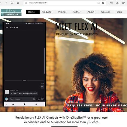 New FLEX AI Chatbot website is LIVE