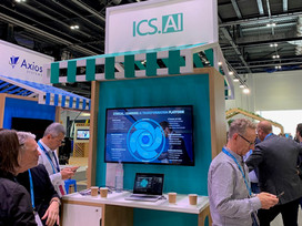 ICS.AI exhibit at Microsoft Future Decoded in the ExCel London, October 2019