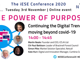 ICS.AI attend the iESE Conference -  November 2020