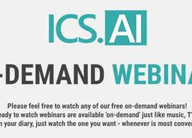 Discover ICS.AI's brand new On-Demand Webinars page!