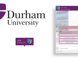 ICS.AI are excited to announce that our AI Assistant went live today on Durham Universities Website