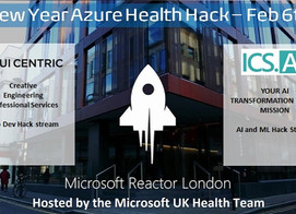 Join Microsoft and ICS.AI at an exciting AI hack hosted by the Microsoft UK Health Team!