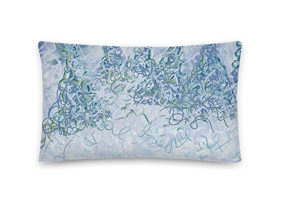 """Oh Evergreen"" 00.2 Pillow"
