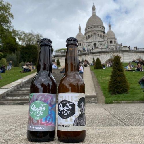 Bière à paris Montmartre