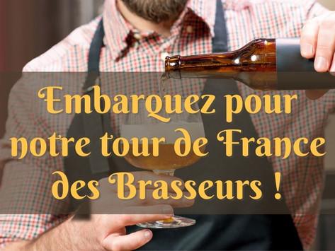 Embarquez pour le tour de France des brasseries artisanales avec Coffretbiere.fr