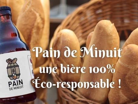 Pain de Minuit : la bière 100% responsable !