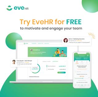 EveHR cung cấp bản dùng thử 2 tháng miễn phí